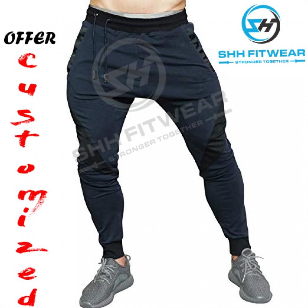 Men s Gym Workout shh Joggers Pants Active Trousers Casual Fitness  Sweatpants M-Trouser-011 61778149a