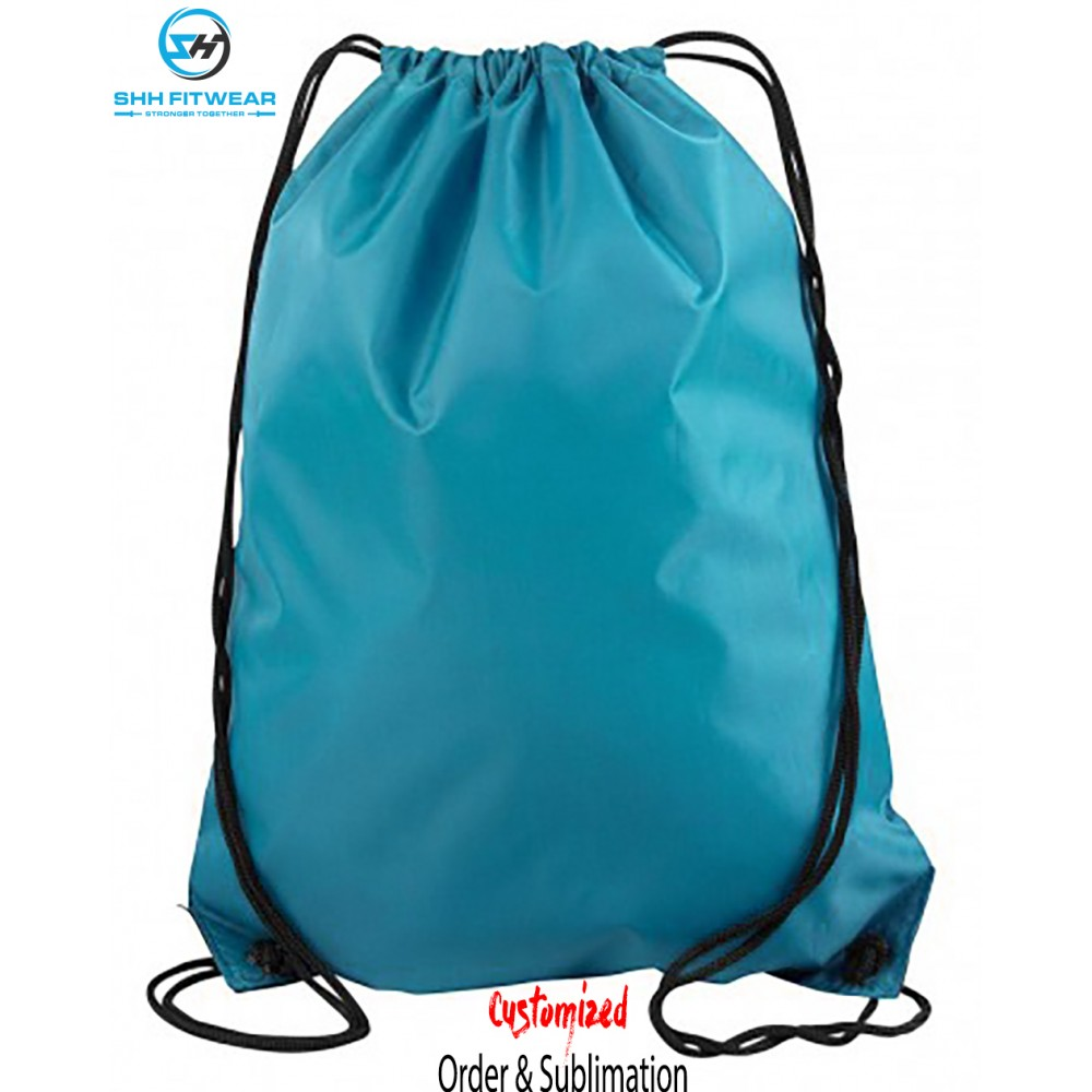 Personalized Boys Girls Drawstring BACKPACK Cinch Bag Tote All Star SPORTS