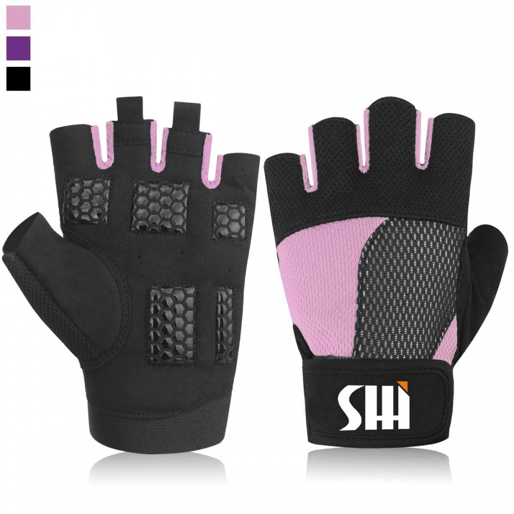 BODYBUILDING GYM EXERCIS GLOVES WEIGHT LIFTING GLOVES TRAINING FITNESS GLOVE